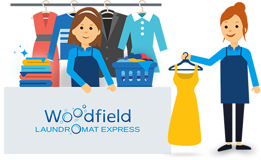 Drop off laundry and dry cleaning service